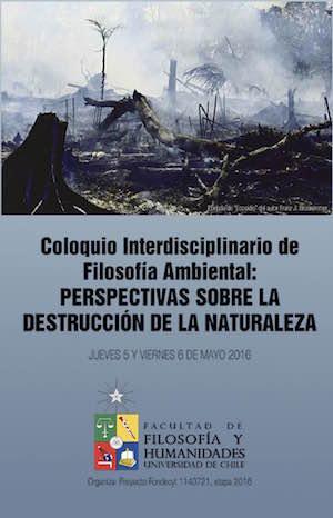 Coloquio filosofía ambiental