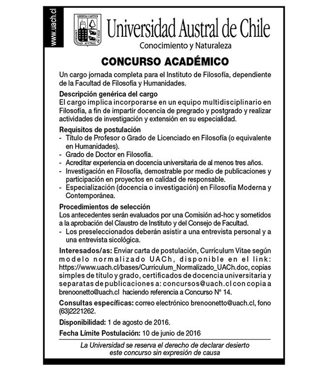 Llamado-a-Concurso-Filosofia-Universidad-Austral-de-Chile